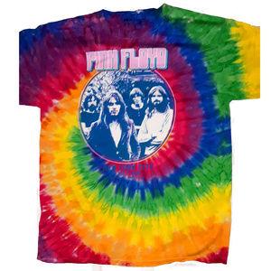 Pink Floyd NYC July 4 Tie Dye rock T-Shirt 3XL NWT